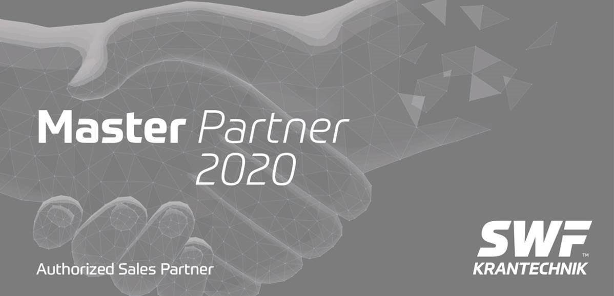 Master Partner 2020 Authorized Sales Partner - Forside
